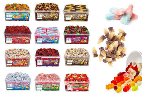 Avant Garde - Sweetzone giant tub of sweets with options includes fizzy cola bottles, rainbow belts, giant strawberries - Save 0%
