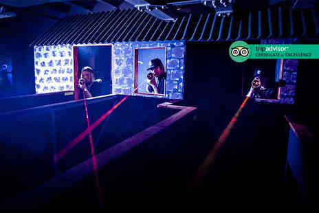 Laser Quest - Two games of laser tag for two people - Save 64%