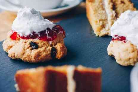 Lux Vegan Cakes - Vegan Cream Tea for Two or Four - Save 30%
