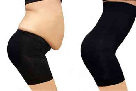 Groupon Goods Global GmbH - High Waisted Tummy Tuck Shapewear - Save 76%