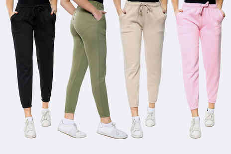 Love My Fashions - Womens fleece lined joggers - Save 0%