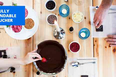 My Chocolate - Chocolate making workshop - Save 40%