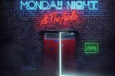 Apollo Theatre - Tickets to see Monday Night - Save 0%
