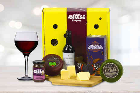 The Chuckling Cheese Company - Cheese and wine box - Save 46%