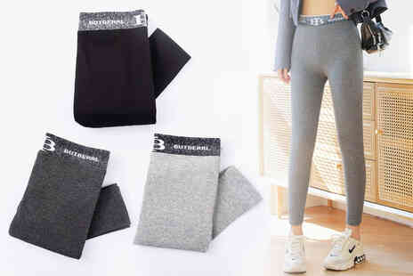 PinkPree - Pair of thin ladies leggings - Save 77%