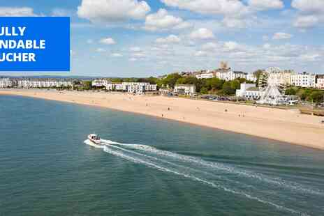 The Royal Beacon Hotel - Jurassic Coast getaway with meals - Save 54%