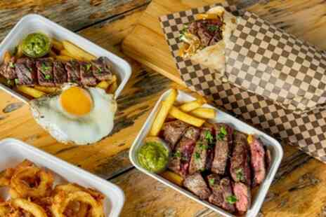STAKEhaus - Takeaway Steak and Chips wtih Soft Drink for Up to Four - Save 0%