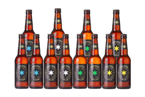 Freedom Brewery - Mixed case of 12 beers - Save 0%