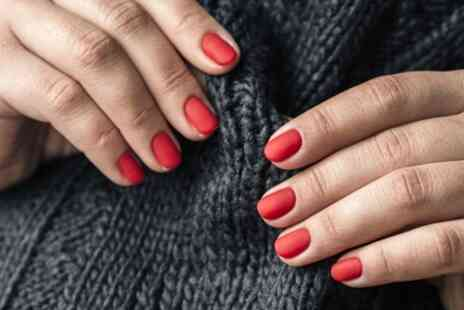 The Loft Salon - Shellac Manicure or Pedicure or Both - Save 40%