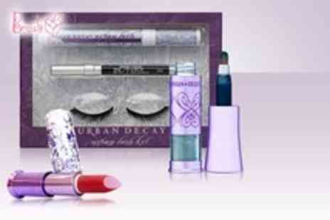 The Beauty Box - 3 pcs of Urban Decay cosmetics including a lash kit, an eye shadow kit - Save 58%