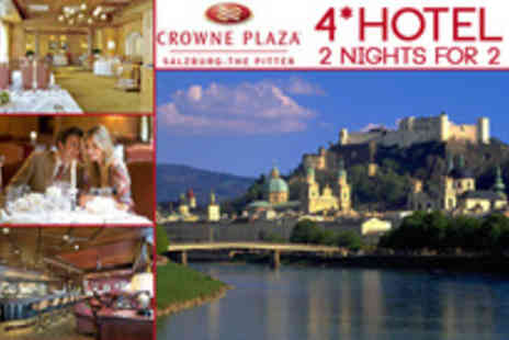 Crowne Plaza - Two nights in a double room with all available amenities for 2 persons - Save 48%