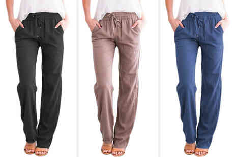 Wishwhooshoffers - Womens loose casual joggers - Save 75%