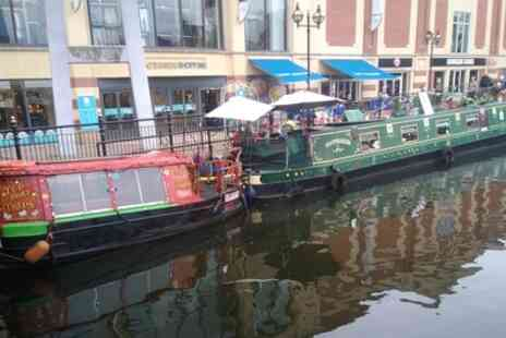 Moonraker Floating Tearoom - River Tour of The Brayford Marina and Medieval Bridge with Cream Tea - Save 0%
