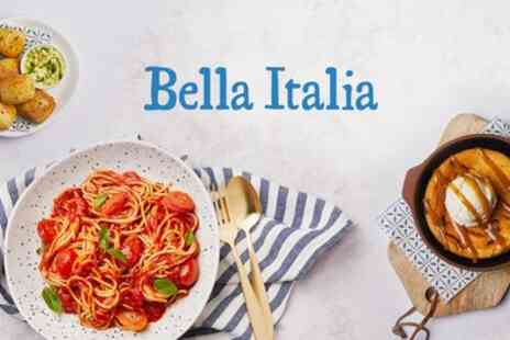 Bella Italia - Two or Three Course Italian Meal for Two - Save 53%