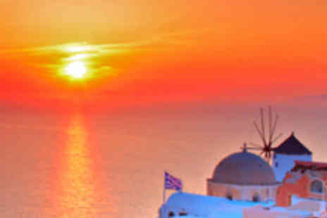 - Santorini Half-Board Family Holiday for Four - Save 59%