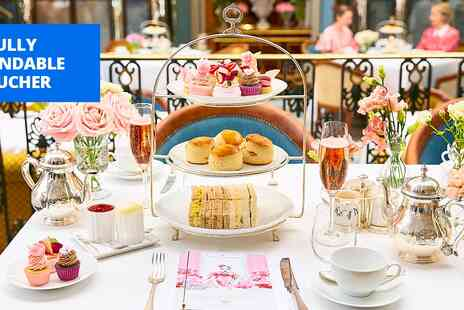 Celeste at the Lanesborough - Michelin starred champagne afternoon tea for 2 - Save 26%