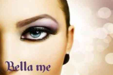 Bella Me - Semi permanent makeup including eyeliner, eyebrows or lips - Save 72%