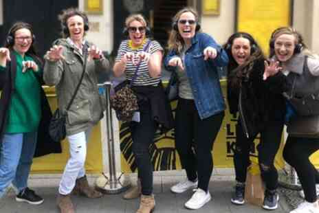 Silent Disco Walking Tours - West End Musical Themed Walking Tour for Up to Four - Save 38%