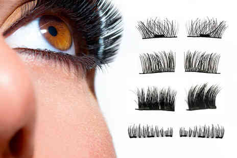 Forever Cosmetics - Pair of magnetic false eyelashes - Save 73%