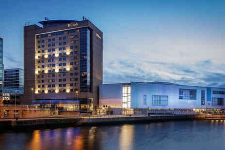 Hilton Belfast - A Belfast hotel stay for two people in a junior suite with breakfast - Save 40%