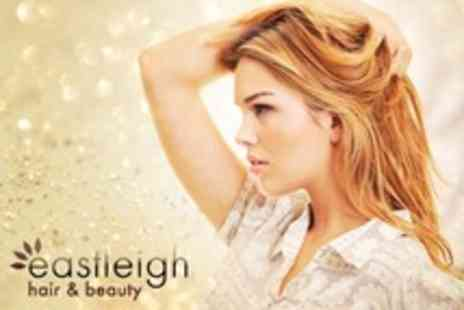 Eastleigh Hair and Beauty - Full Head Colour or Half Head Highlights Plus Restyle and Conditioning Treatment - Save 61%