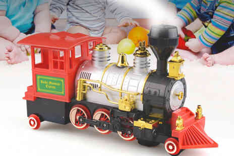 MBLogic - Steam blowing toy train - Save 70%