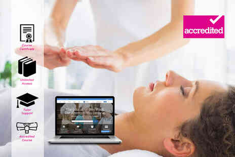 Harley Oxford - Online accredited reiki course - Save 90%