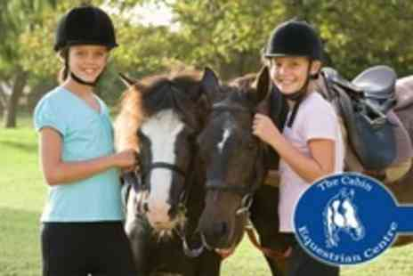 The Cabin Equestrian Centre - Three Horse Riding Lessons For One - Save 61%