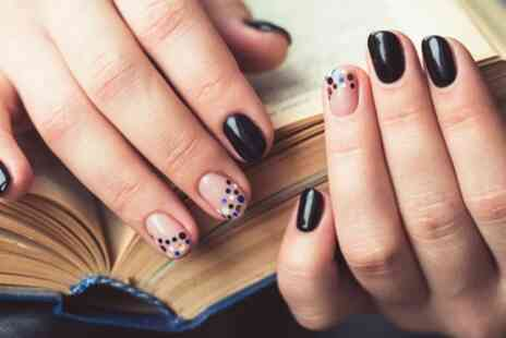 Log Nail Spa - Choice of Express Mani or Pedi or Both - Save 47%