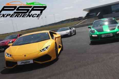 PSR Experience - Three or Six Laps in Variety of Supercars, Weekday or Weekend - Save 20%