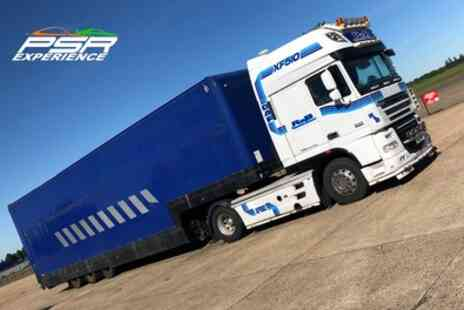 PSR Experience - Articulated Lorry Driving Experience for One or Two - Save 20%