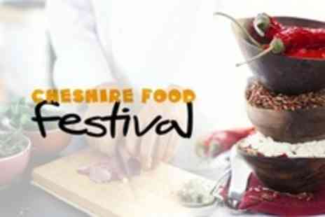 Cheshire Food Festival - Cheshire Food Festival Weekend Pass For Two With Hot Drink - Save 53%