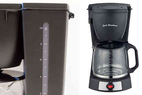 Garden and Camping - 1.2L Filter Coffee Machine with Glass Carafe - Save 63%