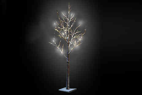 Direct 2 public - Snow Covered LED Blossom Tree - Save 0%