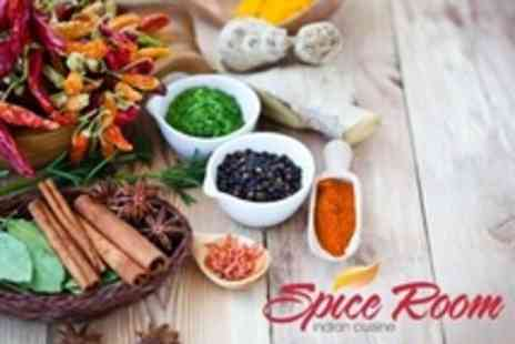 Spice Room - Two Course Indian Meal With Rice and Bengali Tea For Two People - Save 62%