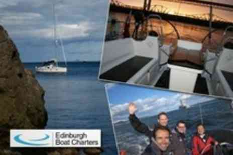 Edinburgh Boat Charters - Half Day Luxury Sailing Trip For Two - Save 63%