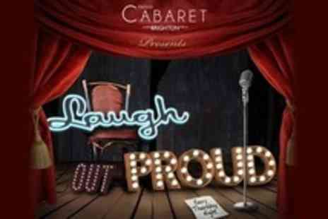 Proud Cabaret - Comedy Show Tickets With Champagne Cocktail For One - Save 53%