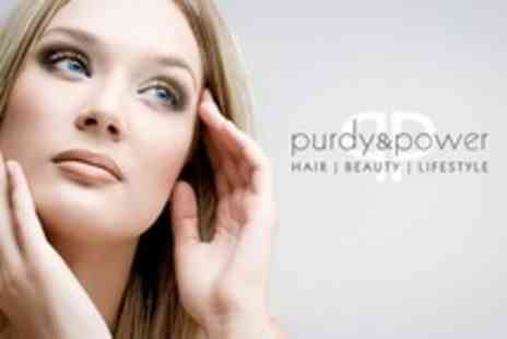 Purdy and Power - Three 45 Minute Facials - Save 73%