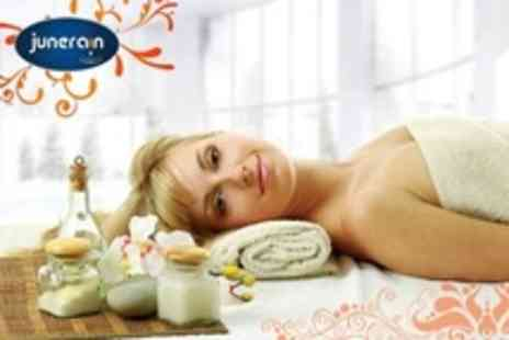 Junerain Beauty and Bridal - Three Beauty Pamper Package Treatments Such As Back and Scalp Massage - Save 77%