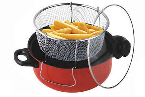 Direct 2 public - 3 in 1 Steamer Cooker and Fryer - Save 65%
