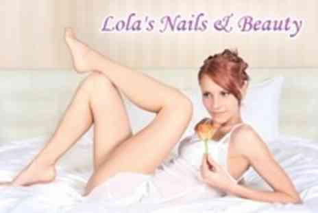 Lolas Nails & Beauty - Brazilian and Half Leg Wax - Save 69%