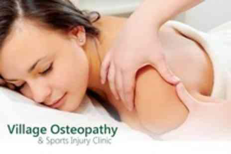 Village Osteopathy - One Osteopathy Sessions Including Treatment - Save 63%