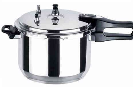 Direct 2 public - Lightweight Aluminium Pressure Cooker - Save 75%