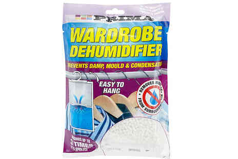 Direct 2 public - 6 Pack of Hanging Wardrobe Dehumidifiers - Save 0%