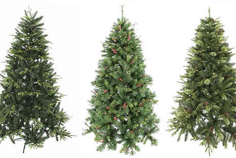 Garden & Camping - Pre Lit Christmas Tree - Save 33%