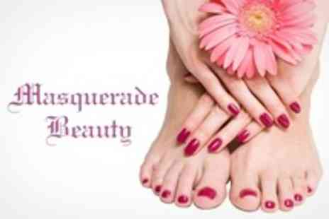 Masquerade Beauty - Gelish Nails For Fingers and Toes - Save 62%