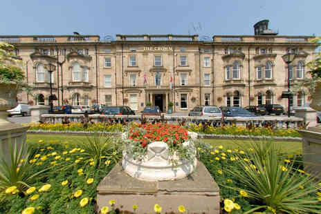 The Crown Hotel - A Harrogate, North Yorkshire stay two people with three course dinner on first night - Save 40%