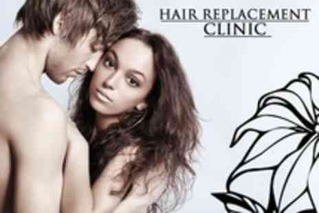 Hair Replacement Clinic - Hair Loss Therapy With Twelve Laser Sessions - Save 89%