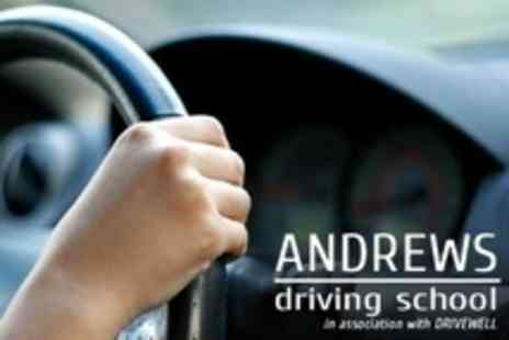 Andrews Driving School - Three Driving Lessons - Save 75%