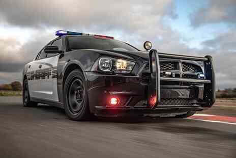 Drift Limits - An 8 lap Police Dodge Charger Hemi V8 driving experience - Save 50%